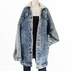 Rare ZIGGY! Unisex Oversized Denim Jean Jacket